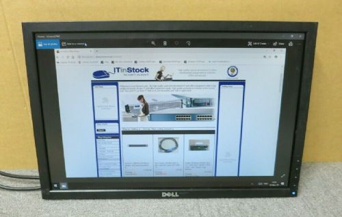 "Dell UltraSharp 0T443R E1910F 19"" LCD TFT Widescreen Monitor VGA DVI No Stand"